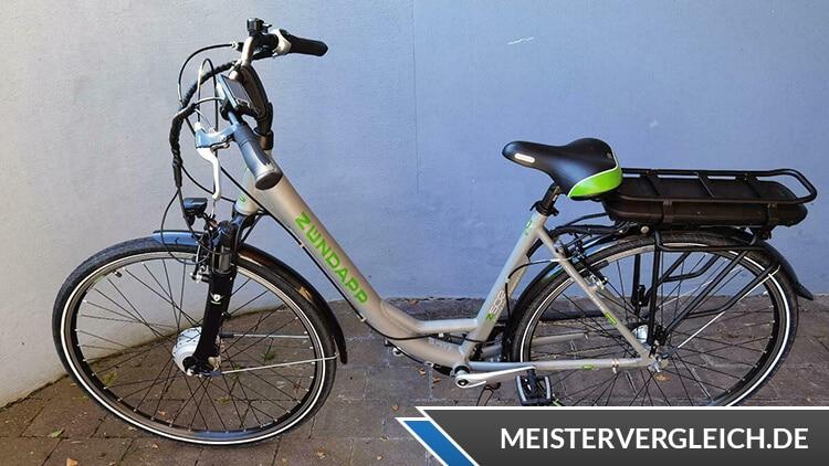 Zündapp Z502 700c E-Bike Test