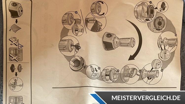 BOSCH MultiTalent 3 MCM3100W Kompakt-Küchenmaschine Beschreibung