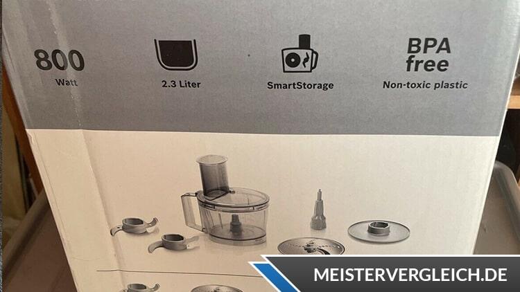 BOSCH MultiTalent 3 MCM3100W Kompakt-Küchenmaschine Lieferumfang