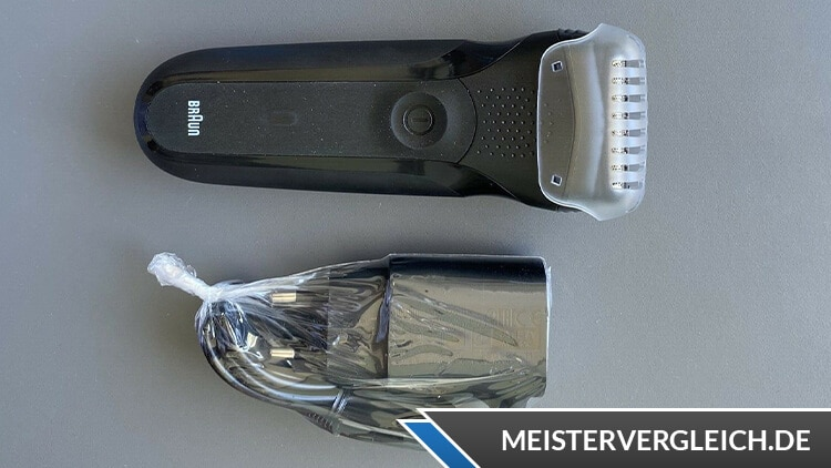 BRAUN Series 3 Shave&Style Test