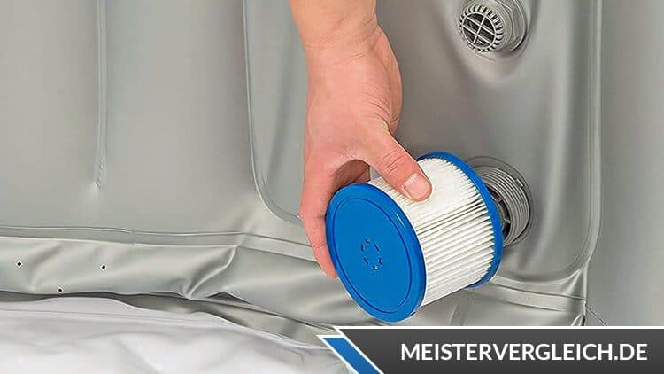 HOME-DELUXE Splash Aufblas-Whirlpool Filter
