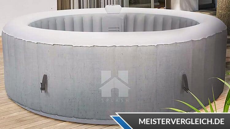 HOME-DELUXE Splash Aufblas-Whirlpool Test