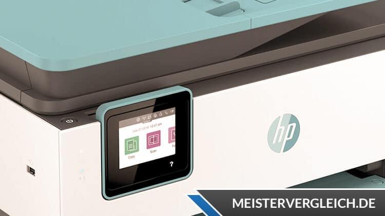 HP OfficeJet Pro 8025e All-in-One Drucker Test