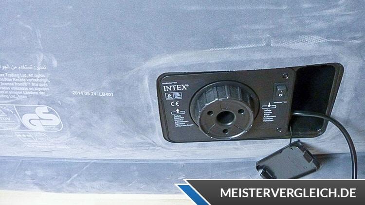INTEX Luftbett mit Pumpe Ventil