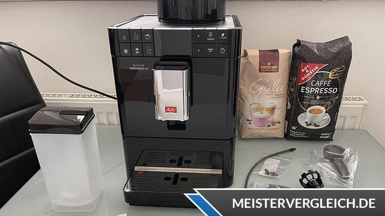 Melitta Varianza CSP F 57-0-10 Kaffeevollautomat Test