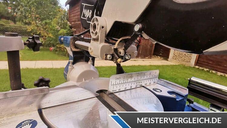 Scheppach Universal-Zug-Kappsäge HM90MP Fuss