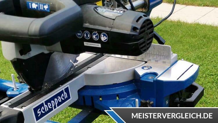 Scheppach Universal-Zug-Kappsäge HM90MP Motor
