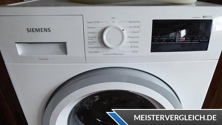 Siemens WM14NK20 iQ300 Waschmaschine Test