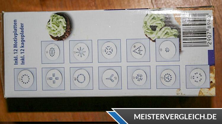 AMBIANO Elektrische Gebäckpresse Motivplatten