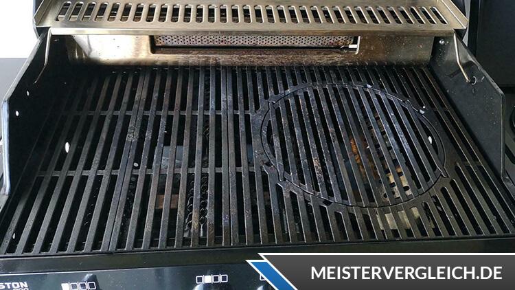 ENDERS Gasgrill Boston Black Pro 4 SIKR Turbo Grillfläche