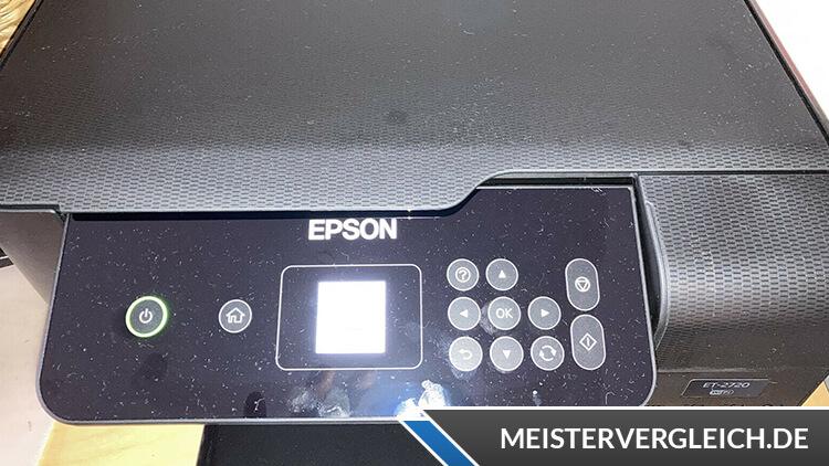 EPSON EcoTank ET-2721 Test