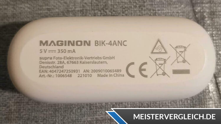 MAGINON BIK-4ANC True-Wireless-Kopfhörer Datenblatt