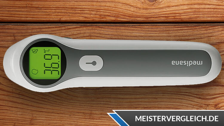 MEDISANA Fieberthermometer Kontaktlos TM A67 Test