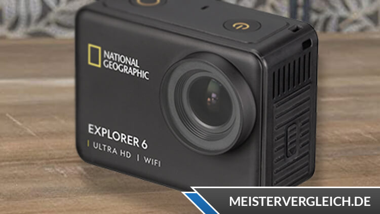 NATIONAL GEOGRAPHIC Explorer 6 Ultra-HD-Action-Cam Test