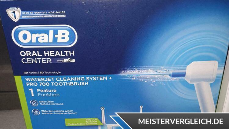 ORAL-B WaterJet Pro 700 Reinigungssystem Lieferumfang