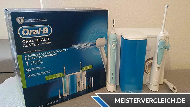 ORAL-B WaterJet Pro 700 Reinigungssystem Test