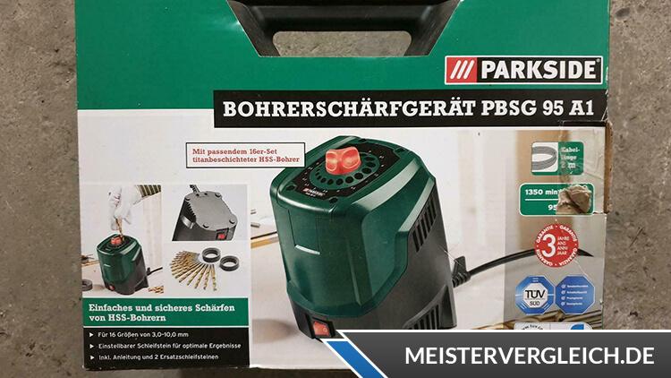 PARKSIDE Bohrerschärfgerät Verpackung
