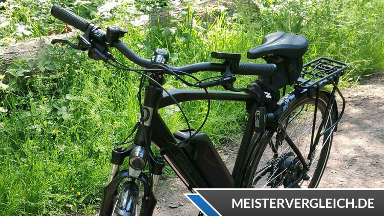 Prophete E-Bike Alu-ATB Twentyniner 29 Zoll Test