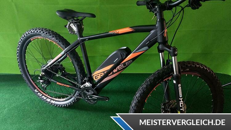 Prophete E-Bike Alu-MTB 650B Graveler Big&Fast Test