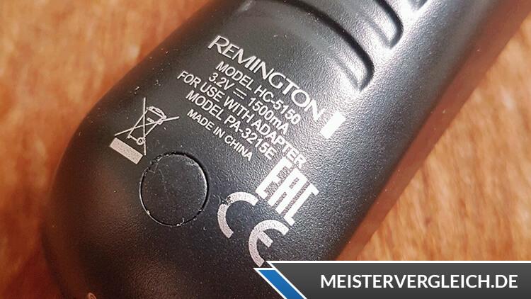 REMINGTON HC5150 Haarschneider Alpha Datenblatt