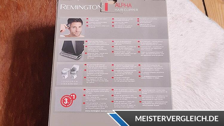 REMINGTON HC5150 Haarschneider Alpha Funktionen