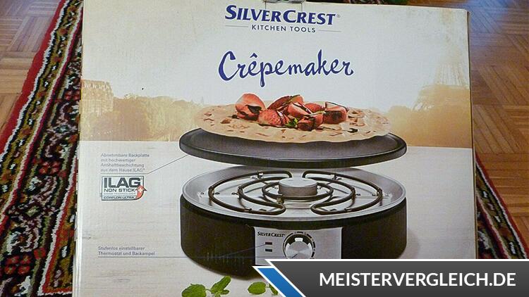 SILVERCREST Crepe Maker Verpackung